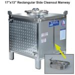 TranStore Wine Storage & Fermentation Tank, Silver Package 350 Gallon