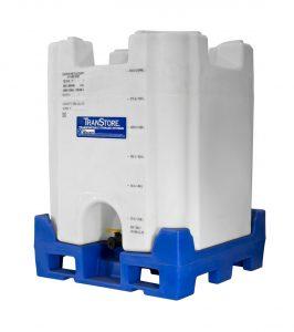 TranStore Voyager 330-gallon plastic IBC