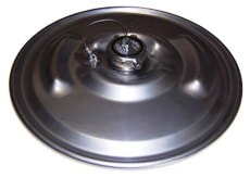 "IBC Lid Drum Cover 22-1/2"" 304 Stainless Lid with 3"" Fusible cap in center"