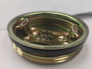 Plated Steel Round (Tri-Sure) Bung Plug