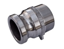 Male Camlock Adapter - Aluminum