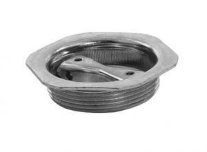 "Plated Steel Hex Bung Plug 2"""