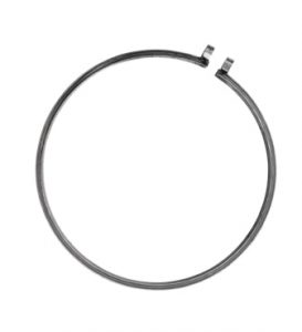 """Plated Steel Clamp Ring 18-1/4"""""""