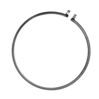 Plated Steel Clamp Ring 18-1/4""