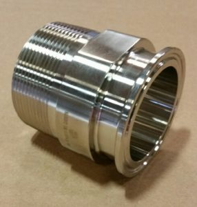 """2"""" MNPT to 2"""" Thermocouple Adapter"""