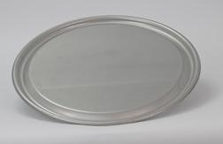 "IBC Lid Drum Cover, 22-1/2"", 304SS, 16 gauge, raised center"