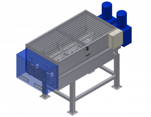 Custom sanitary product mixer blender sketch