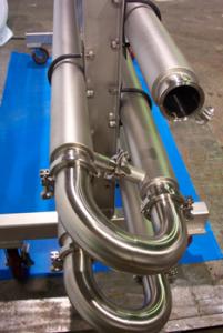 sanitary tube heat exchanger