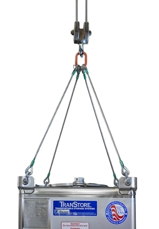 Offshore IBC lifting bridle