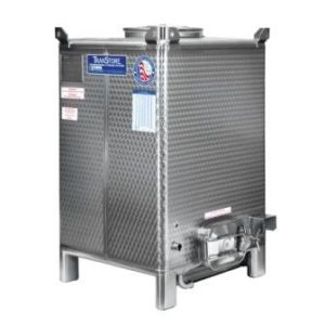 Transtore fermentation tank with manway
