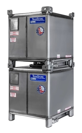 Stacked Stainless Steel Transtore IBC