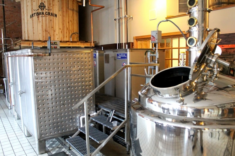 Transtore distillery cooker fermentation stainless steel