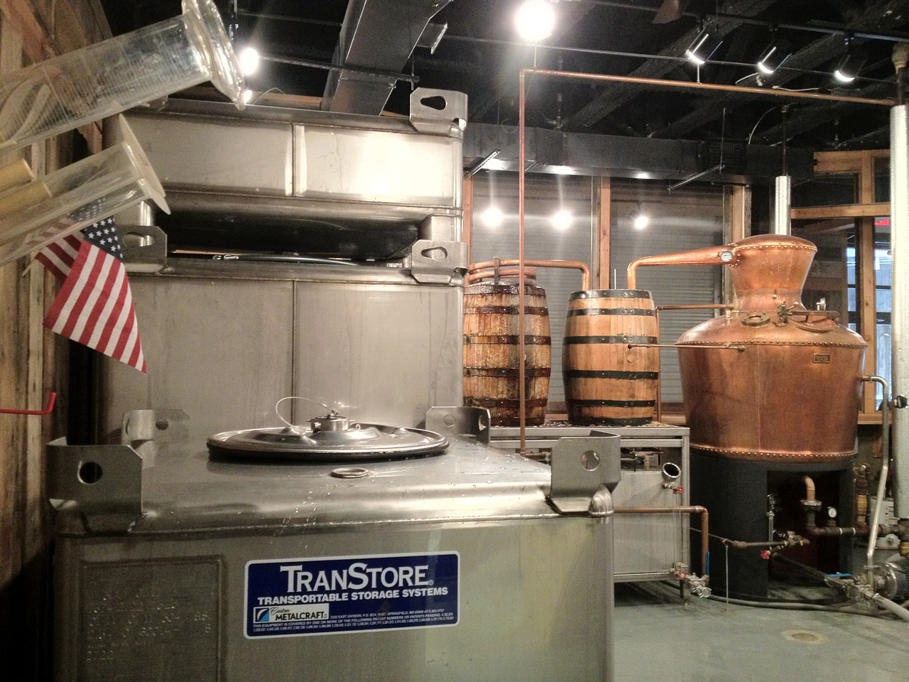 Transtore American craft distillery