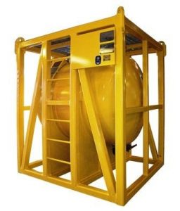 DNV ASME helifuel chemical tank